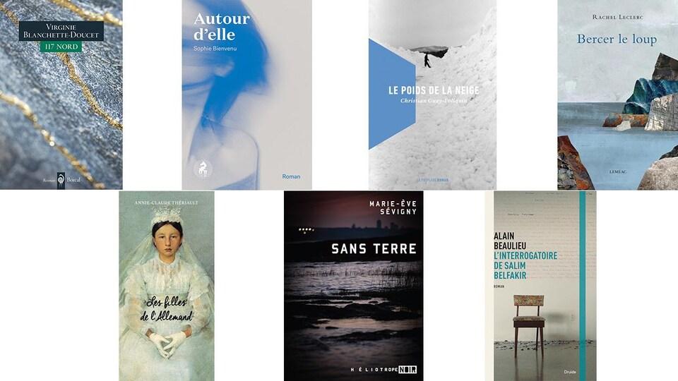 Prix littéraire France-Québec 2017: les sept romans québécois en lice