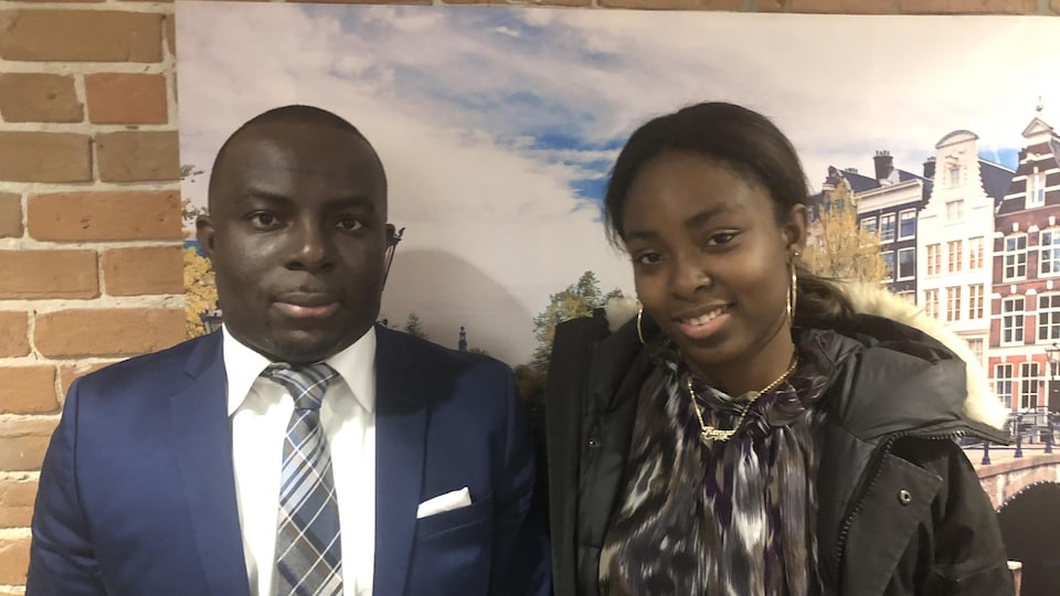 Kwadwo D. Yeboah et sa fille de 15 ans