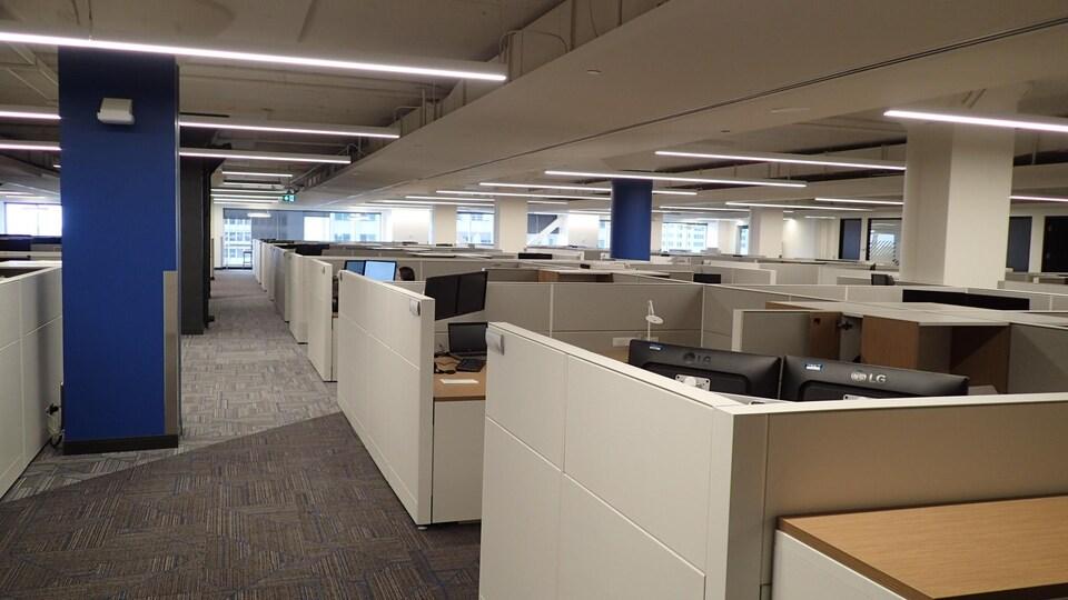 Les nouveaux locaux du Bureau de projets de la STM