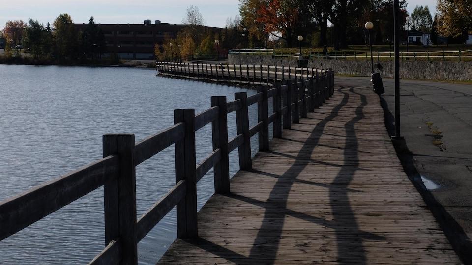 La promenade Agnès-Dumoulon à Rouyn-Noranda sera rénovée