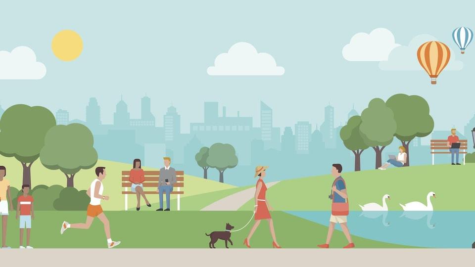 Déconfinement : les utilisateurs de la piste cyclable devraient faire preuve de prudence, disent des experts de la santé publique.