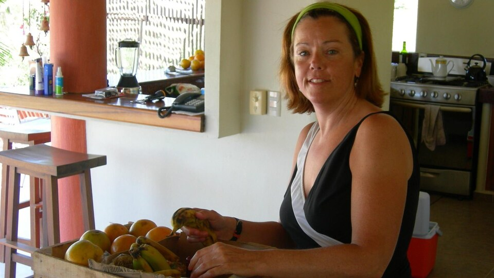 On voit Diane Millard au Mexique.