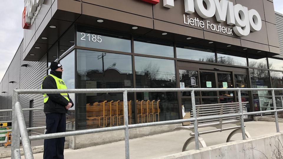 Le supermarché Provigo Liette Fauteux de la rue Galt Ouest à Sherbrooke