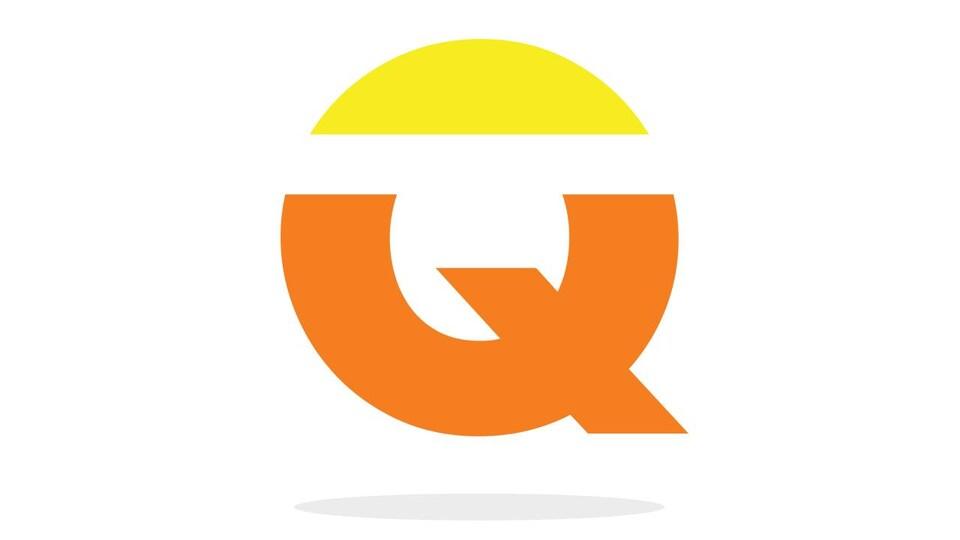 C'est une lettre «Q».