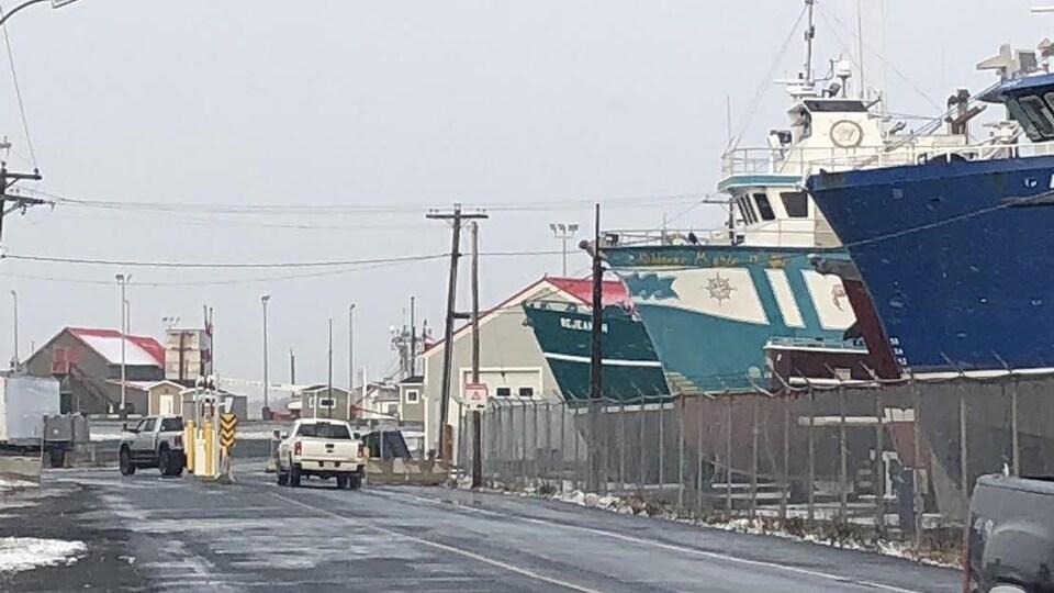 Des barrières mécaniques ont faire leur apparition au quai de Shippagan