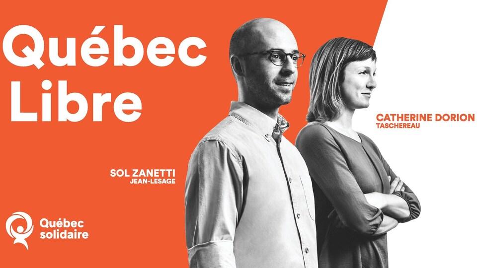 La campagne de publicité de Québec solidaire sera diffusée uniquement à Québec.