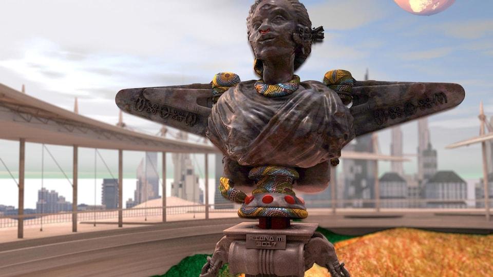 Un monument virtuel créé par Quentin VerCetty.