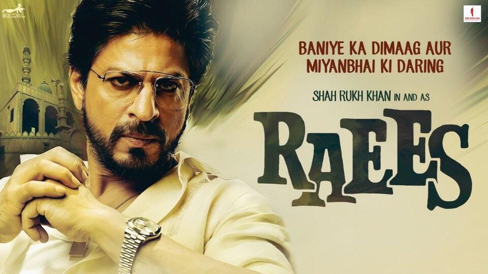Affiche d'un des derniers films de Shah Rukh Khan, sorti en 2017