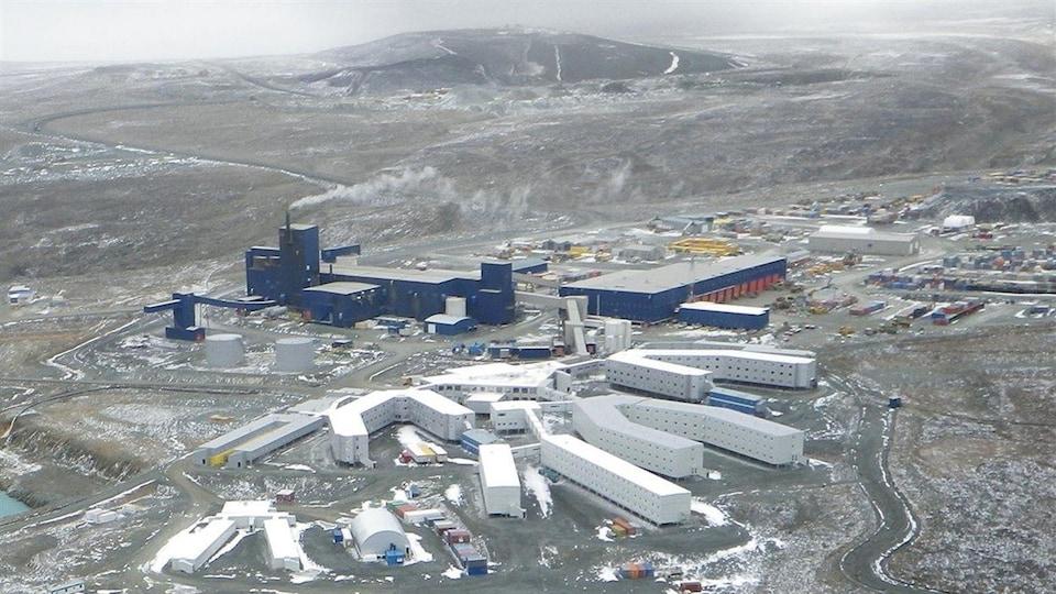 La mine Raglan, au Nunavik.
