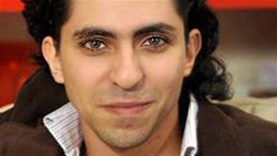 Le blogueur Raif Badawi