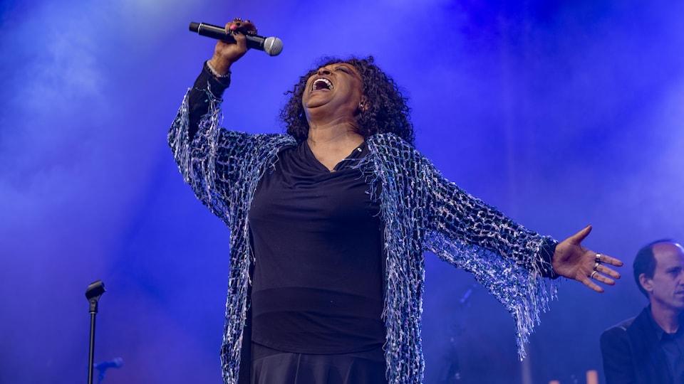 Ranee Lee, en concert.