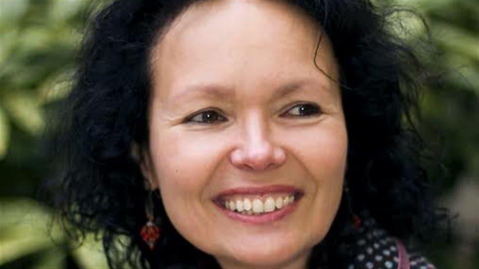 La réalisatrice Manon Barbeau, fondatrice, directrice générale et artistique du Wapikoni mobile
