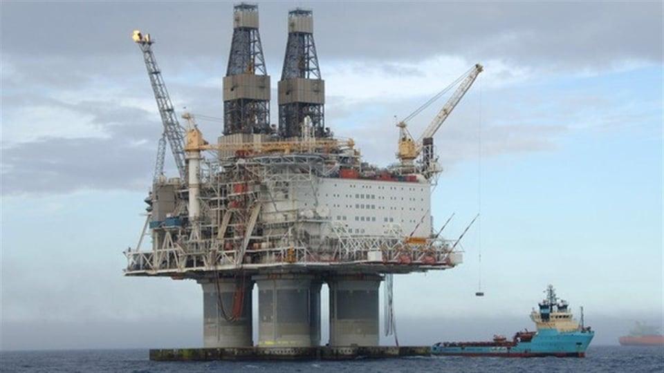 La plate-forme pétrolière Hibernia