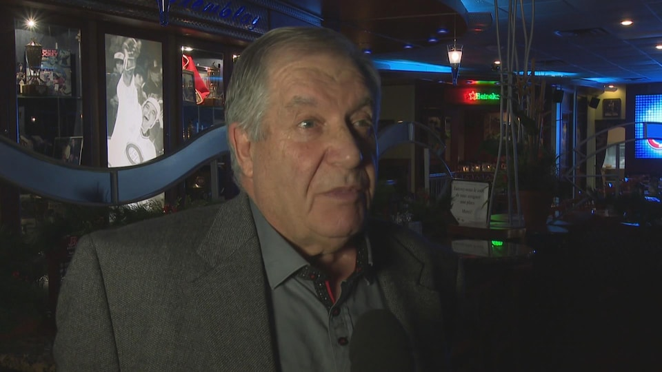 Le maire d'Hébertville-Station en entrevue à Radio-Canada.