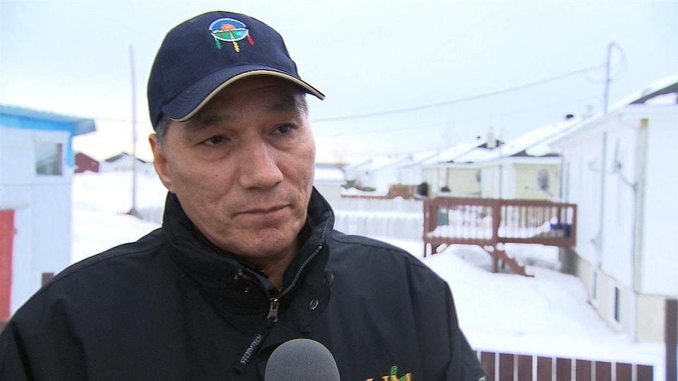 Réal McKenzie, ex-chef de la communauté innue de Matimekush-Lac John.