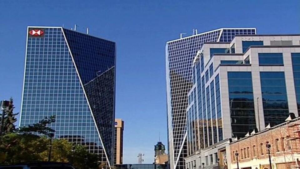 Le centre-ville de Regina, Saskatchewan