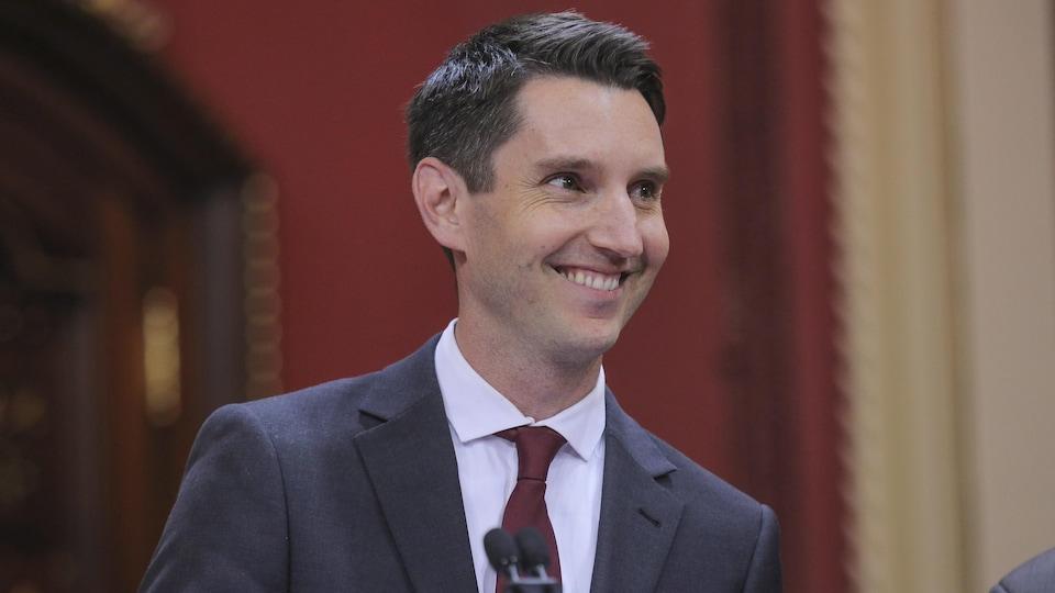 Le nouveau ministre des Transports du Québec, André Fortin