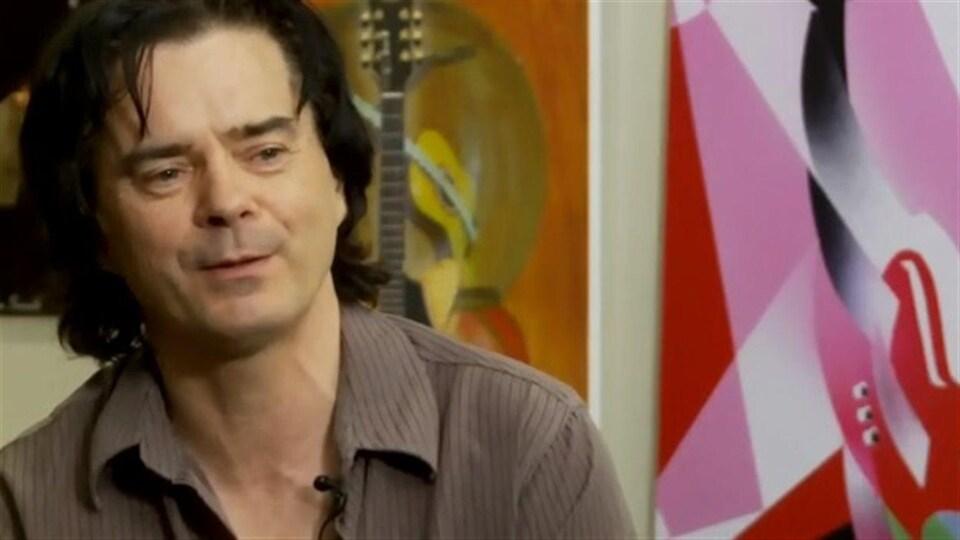Le guitariste Rémi Boucher