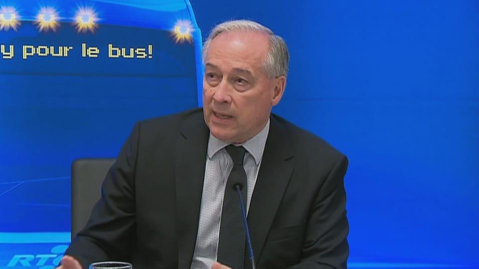Le président du RTC, Rémy Normand