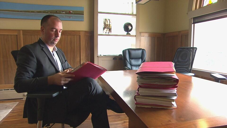 L'avocat de Moncton René A. LeBlanc mène actuellement 18 dossiers de présumées victimes devant les tribunaux au civil.