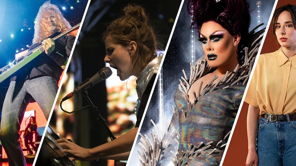 Megadeth, Klo Pelgag, Rita Baga et Ariane Roy.