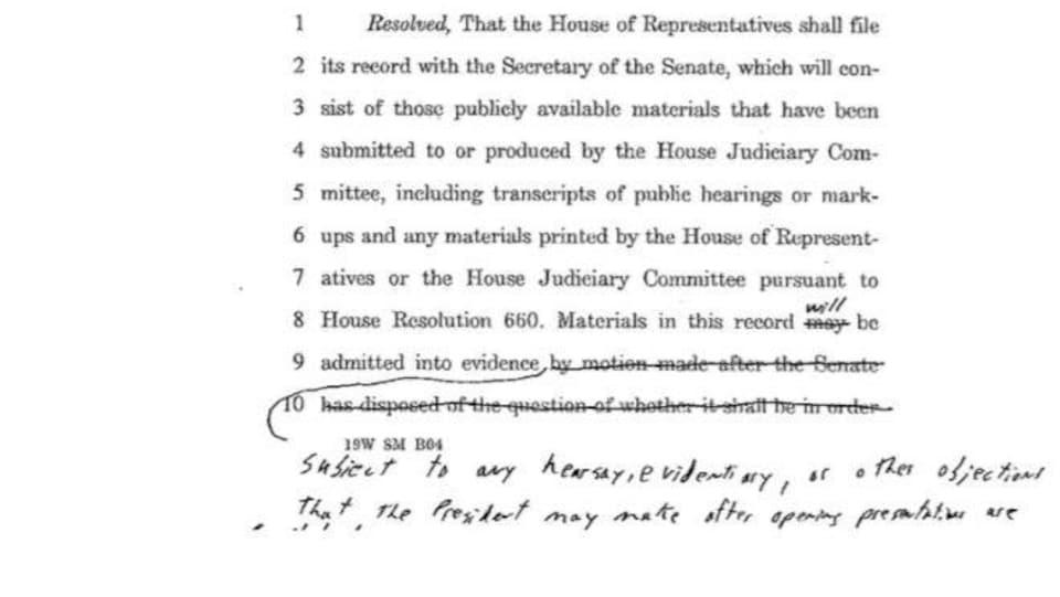 Les modifications ont été indiquées à la main sur le document initial.