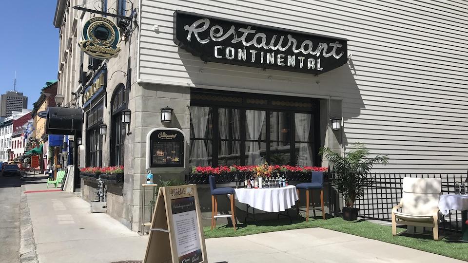 Le restaurant Continental