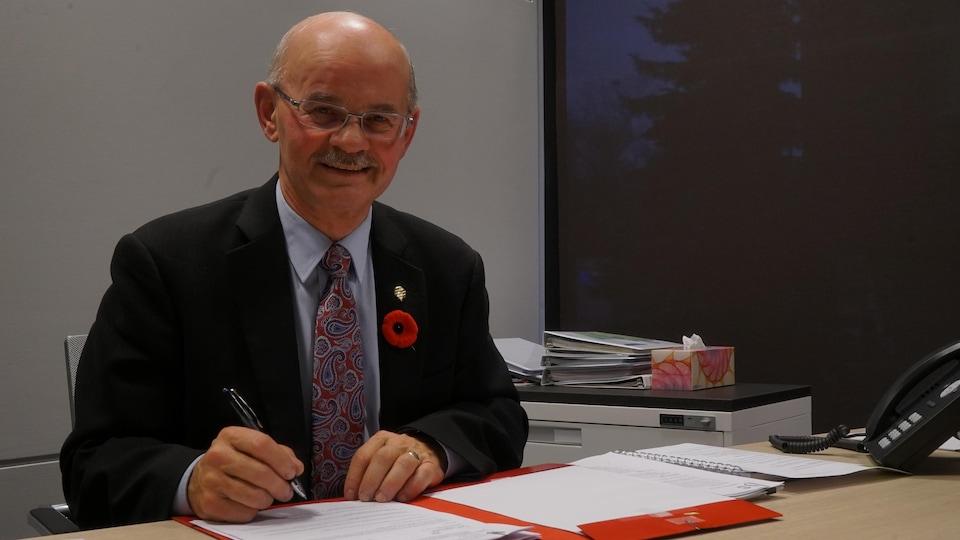 Richard Lehoux quitte la vie politique avec le sentiment du devoir accompli.