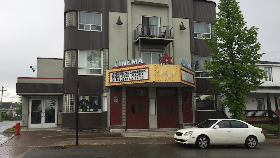 Cinéma du Rift de Ville-Marie, au Témiscamingue