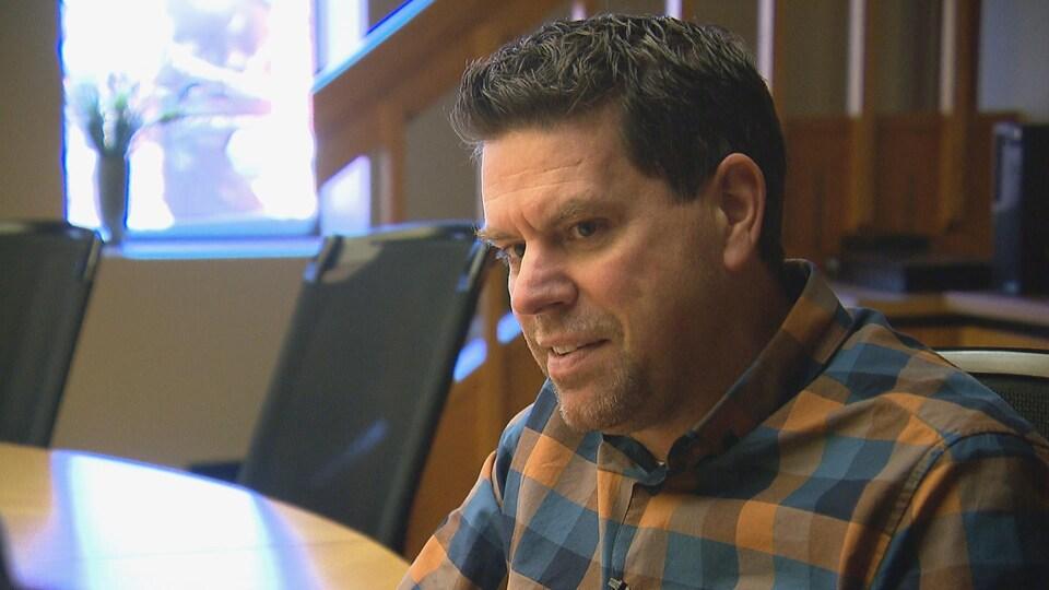 Patrick Caron, directeur du service des travaux publics à la Ville de Rimouski