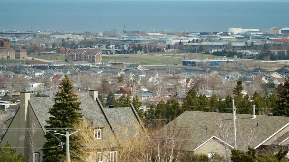 Une vue de Rimouski.