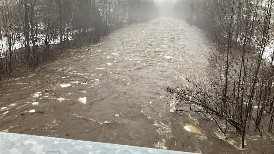 La rivière Montmorency.