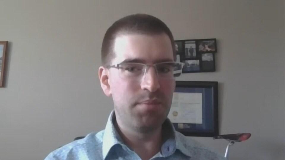 Robert Zaichkowski, a lancé une pétition en ligne pour demander au maire davantage de pistes cyclables