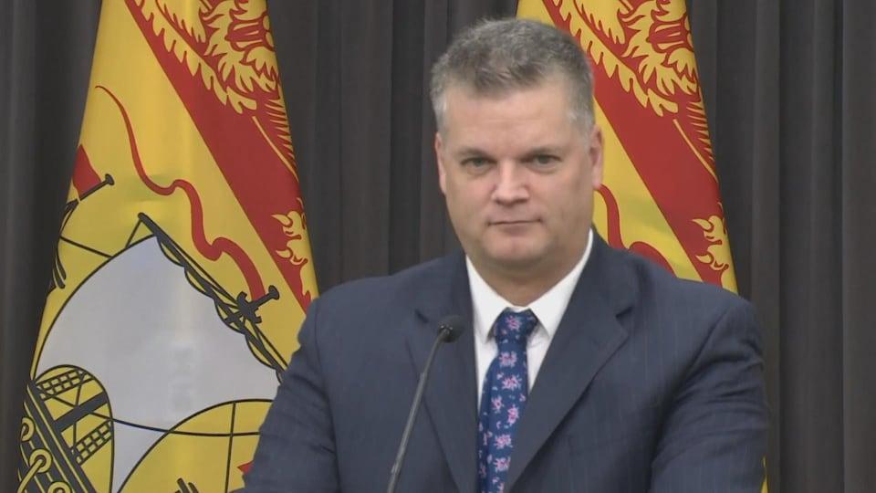 Le vice-premier ministre du Nouveau-Brunswick, Robert Gauvin.