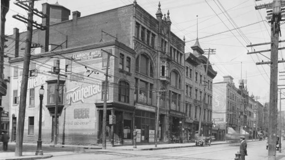 L'édifice Robillard en 1921