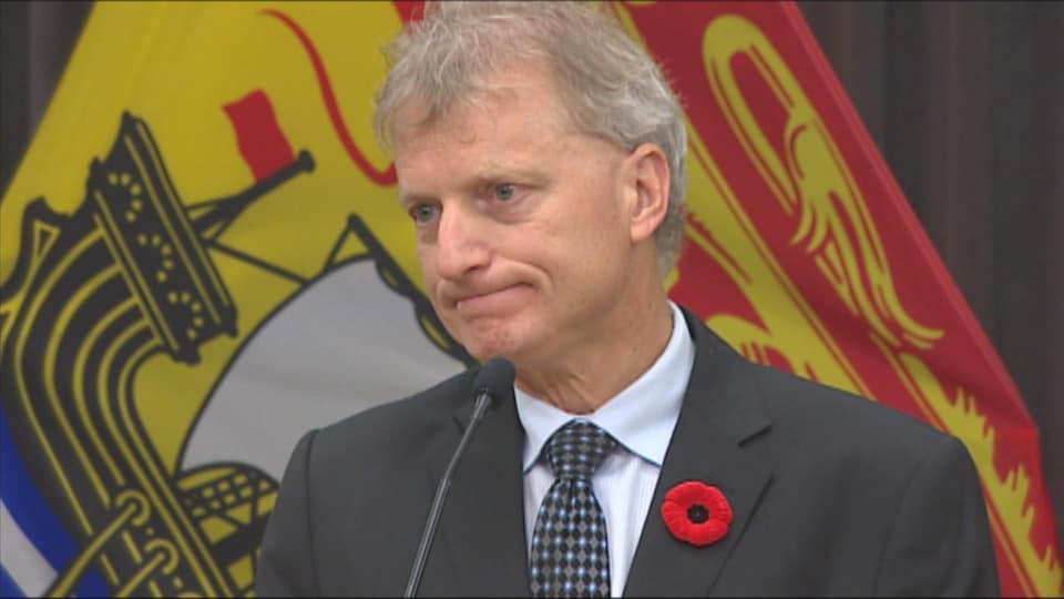 Roger Melanson, président du Conseil du Trésor du Nouveau-Brunswick.