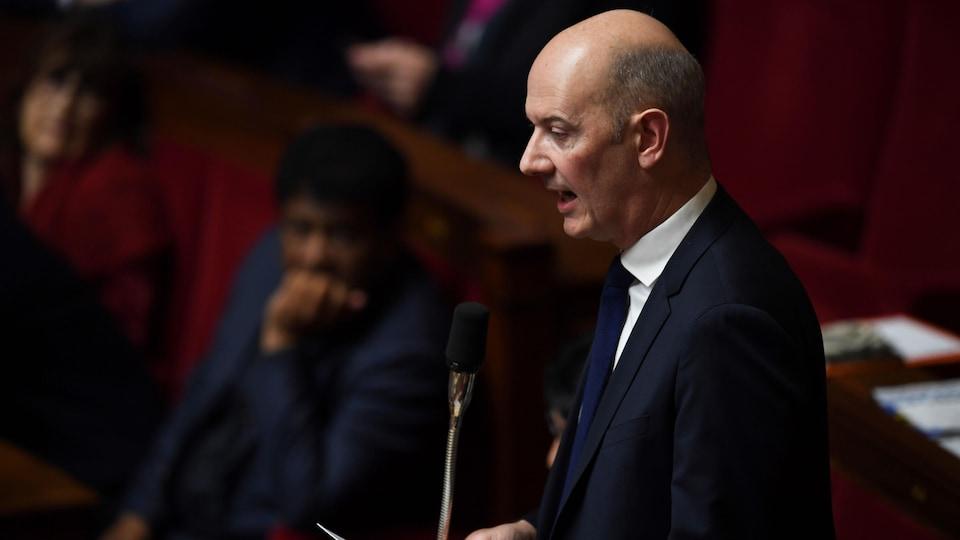 Roland Lescure à l'Assemblée nationale