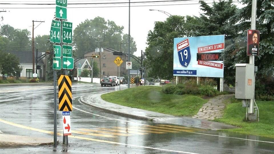 La ville de Bois-des-Filion attend impatiemment le prolongement de l'Autoroute 19.