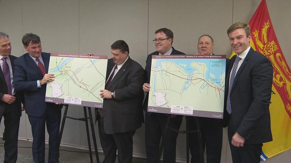 Le projet d'élargissement de la route 11 est un projet commun entre le fédéral et le provincial.