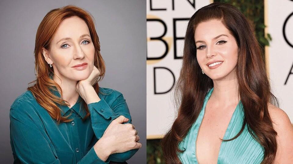 J. K. Rowling et Lana Del Rey sont habillées en vert