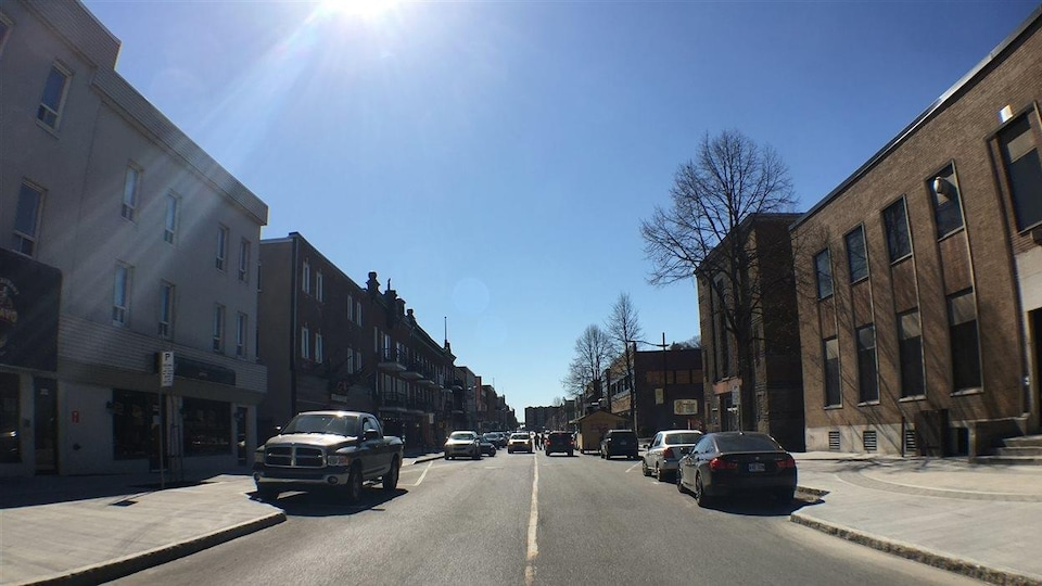Rue principale à Shawinigan
