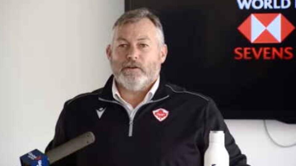 Gareth Rees, le directeur de Rugby Canada et Canada Seven.