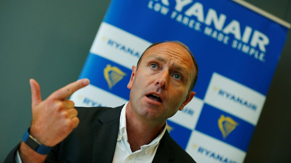 Le patron du marketing de Ryanair, Kenny Jacobs.
