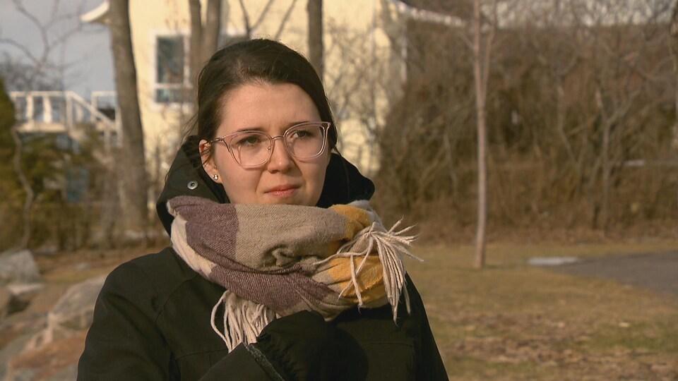 La grand-mère de Sabrina Laterreur souffre d'Alzheimer et est toujours hébergée au Manoir Liverpool.