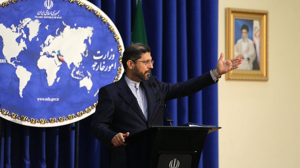 Le porte-parole du ministère iranien des Affaires étrangères, Saïd Khatibzadeh.