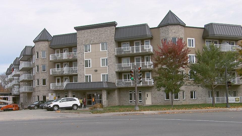 La résidence Saint-Philippe située au 8500 boulevard de l'Ormière à Québec