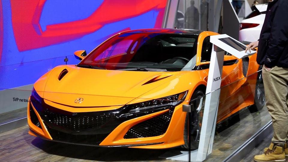 Le plus récent modèle Acura.