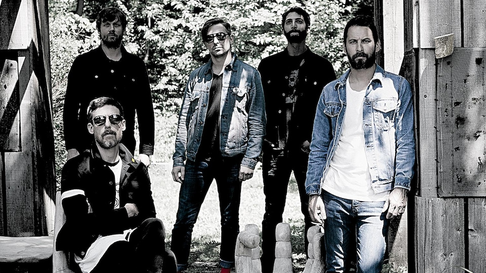 Le groupe Sam Roberts Band