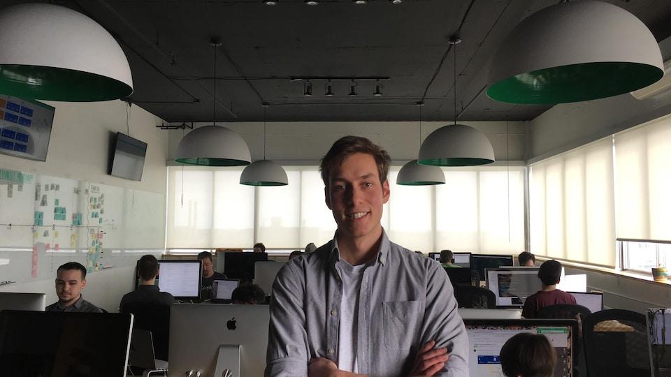 Samuel Mehenni, directeur marketing à Transit