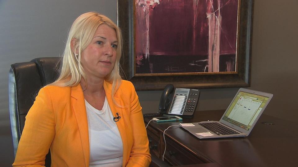 Sandra Allard, courtière hypothécaire chez Planiprêt